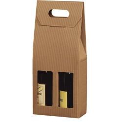 Emballages cadeaux  pour 2 bouteilles