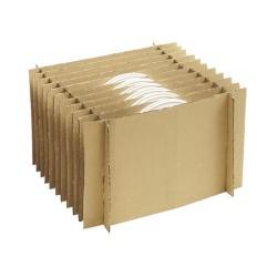 Satz für Teller-Wellkarton-Boxen