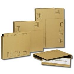 1 Schutzkanten-Wellkarton-Boxen für Bilder